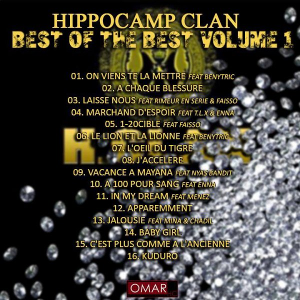 Tracklist Best of the best volume 1