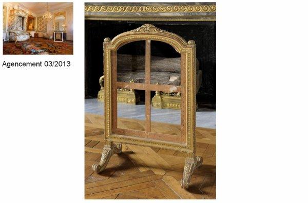 rez de chauss e aile centrale appartement de madame victoire 73 chambre coucher. Black Bedroom Furniture Sets. Home Design Ideas