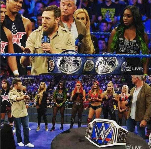 WWE Smackdown Live du 23 ao�t 2016