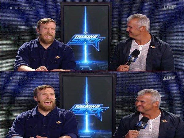 shane et daniel en interview apres smackdown