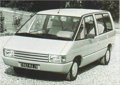 La gen�se de la Renault Espace