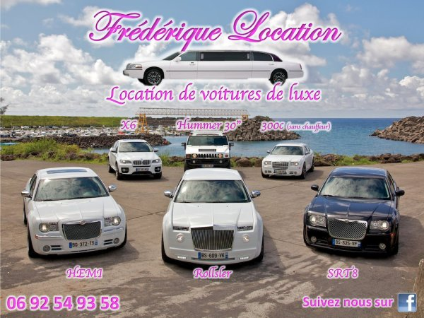 Location Chrysler c Voiture de luxe a la Reunion POUR MARIAGE