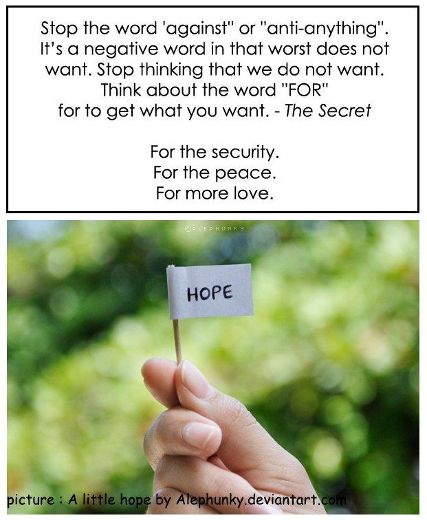 Un petit espoir