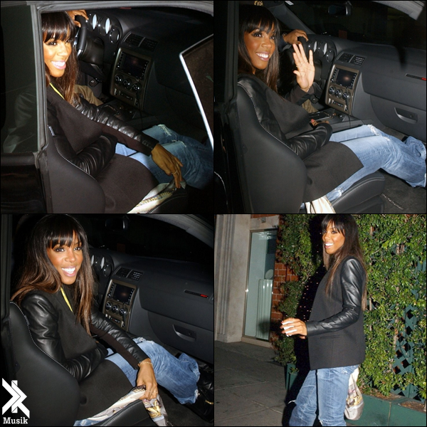 Kelly Rowland Out Late in LA