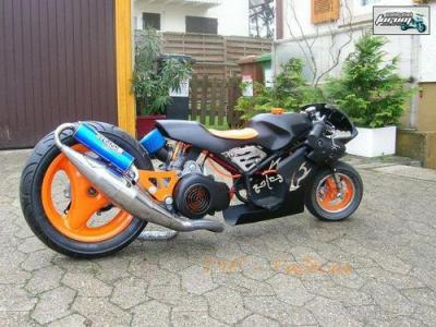 pocket bike avec un moteur de nitro lol scooter nitro booster rocket stunt tou y est. Black Bedroom Furniture Sets. Home Design Ideas