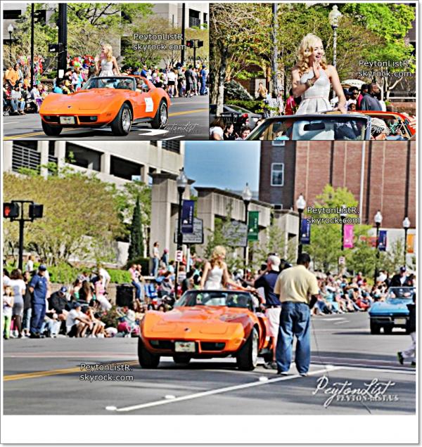 13/04/13 : Peyton a participé au festival Azalea en Californie