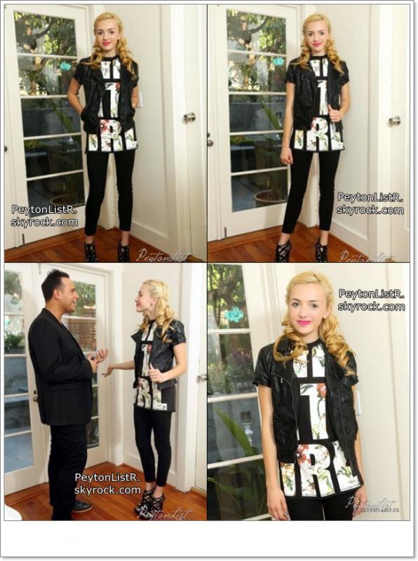 Nouvelle photo de Peyton habillé par son styliste