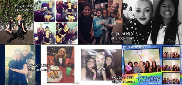 nouvelles photos de Instagram et avec les fans.