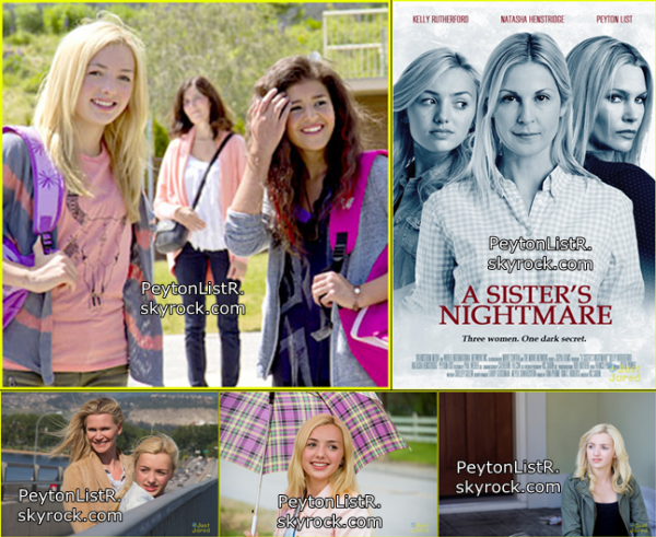 """La premiere à la télé d'Amérique le 7 septembre 2013 """"A Sister's Nightmare"""""""