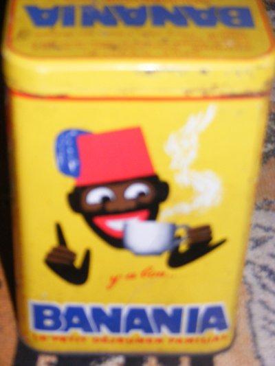banania carton reedition 1997 ancienne boite banania 1960 poupees de sylvie 35. Black Bedroom Furniture Sets. Home Design Ideas