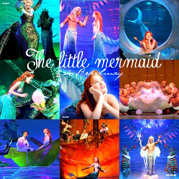 The little Mermaid on Broadway