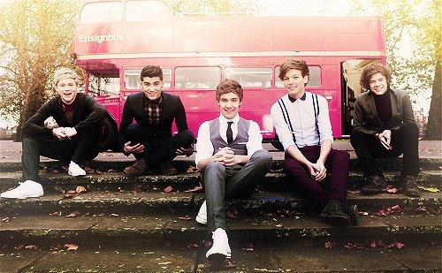 Mini imagine avec les One Direction