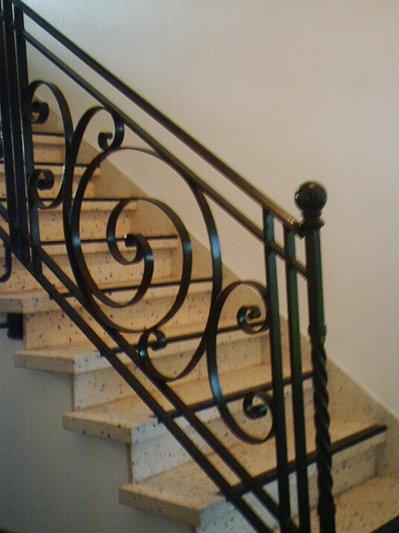 Rampe Escalier Fer Forge