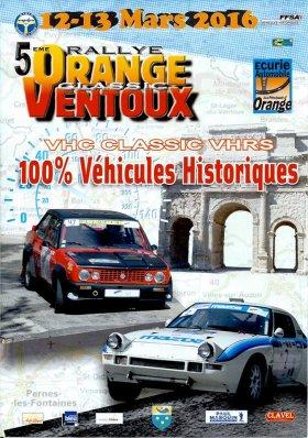 Rallye Orange Ventoux Classic 2016