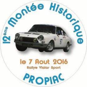 Mont�e historique de Propiac 2016