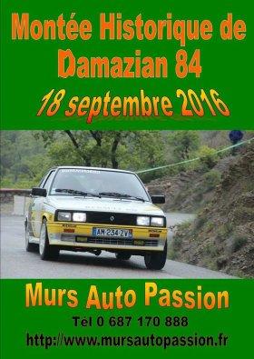 Mont�e historique de Damazian 2016