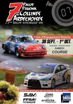 Rallye des Collines Ard�choises 2016