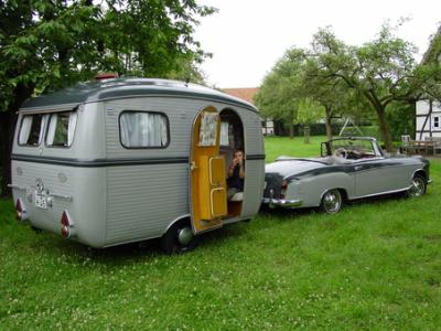 supebe attelage caravane ancienne de collection henon notin. Black Bedroom Furniture Sets. Home Design Ideas