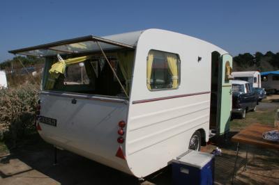 L 39 Ext Rieur De La D Rou Caravane Ancienne De Collection