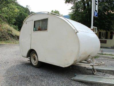 Caravane Pontal Caravane Ancienne De Collection Henon