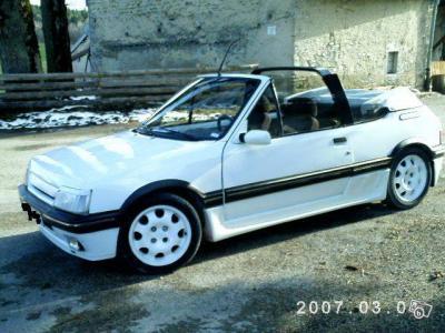 205 gti cabriolet 205 album for Moquette 205 cabriolet