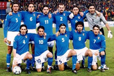 Squadra azzura euro 2000 et mondial 2002 top manga - Equipe de france coupe du monde 2002 ...