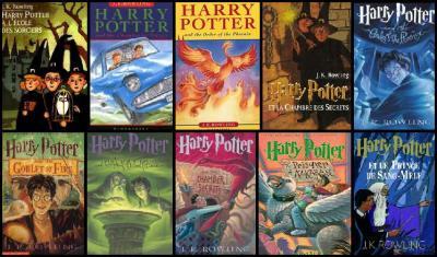 Les 6 livres harry potter as tu pr f r hermione granger - La chambre des officiers livre ...