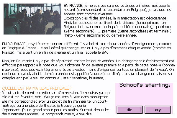 99EME ARTICLE : BACK TO SCHOOL.. 2016 VERSION.