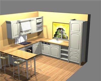 Blog de maison douillette blog de maison douillette for Cuisine 9m2 ouverte