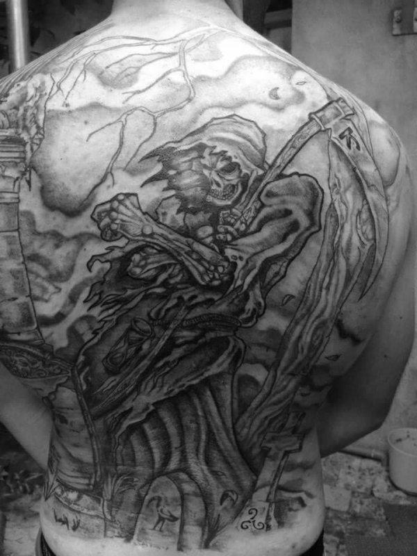Articles de un amour de tatouage tagg s t moignage un amour de tatouage - Tatouage la faucheuse ...