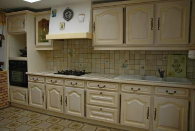 Cuisine quip e relook e amphora artisan meubles peints relooking for Cuisine relookee