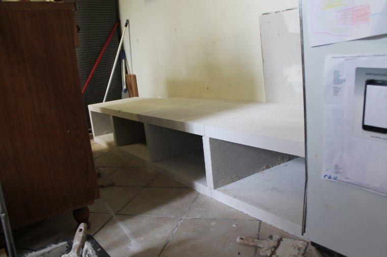 Meuble de cuisine en beton cellulaire blog de creationsph for Meuble beton cellulaire
