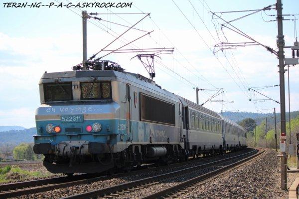 TER a destination de toulon terminus du train lol suite au travaux de la 3ème voie entre toulon-marseille