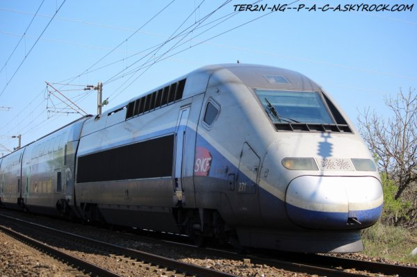 TGV en direction de metz via marseille saint charles