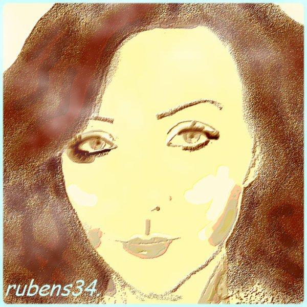 Flou artistique: Portrait de Sabine.