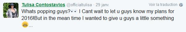 Le retour de Tulisa est pour 2016 : une nouvelle collaboration qui vous fera danser.