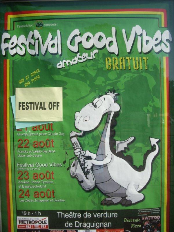 SAM 24 AOUT 2013 - Festival Good Vibe's Draguignan (83)