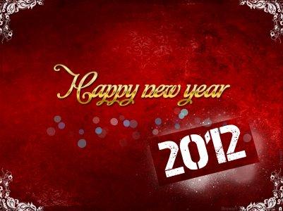Bonne ann�e 2012 � tous =)