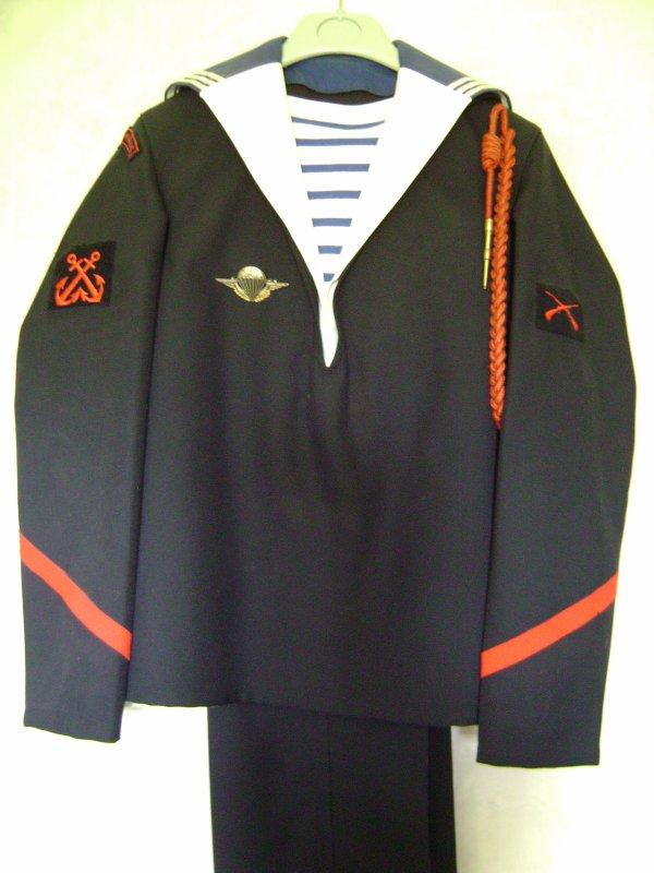 uniforme de fusilier marin