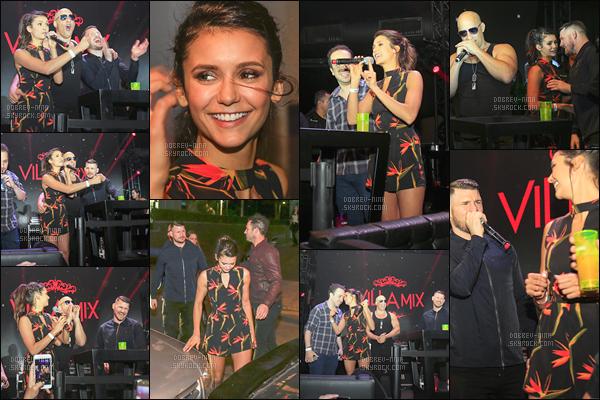 30/11/16: Le lendemain, Nina s'est rendu à une soirée organisé par « Vin Diesel » dans une boite de nuit au Brésil. Je suis totalement fan de la tenue, de la coiffure et du make-up. Un top pour Nina qui a l'air de beaucoup s'amuser en compagnie de ses co-stars.