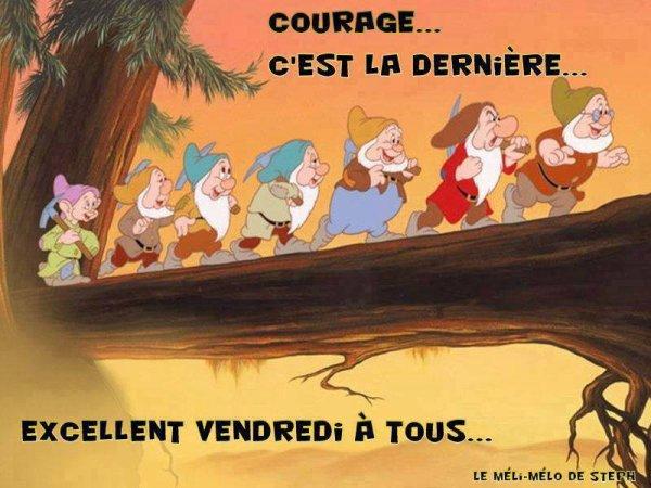 Bon week-end � tous, nous allons chez la coiffeuse demain samedi et Muriel part en Tunisie dimanche matin,,,,,,,bisous