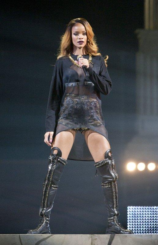 Le 5 mai 2013:             Concert de Rihanna � Brooklyn (New York)