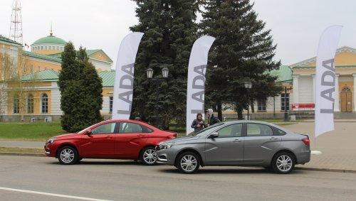 LADA partenaire d'une course � pied de plus de 2000 km entre Ijevsk et Minsk !!!
