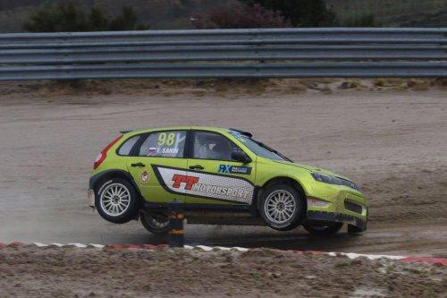 FIA Euro RX en Su�de : Egor Sanin et sa LADA KALINA Sport en demi-finales !!!