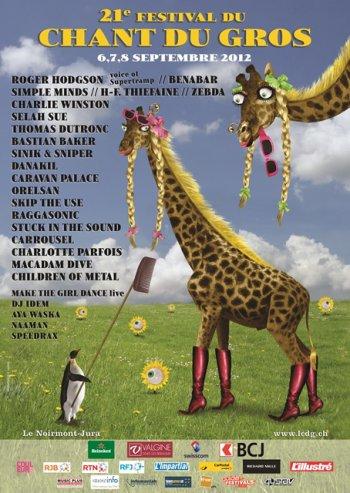 RDV le 7 Septembre pour le Festival le Chant du Gros