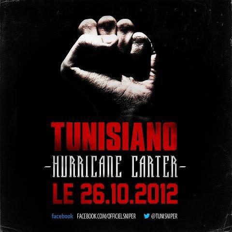 Hurricane Carter le premier extrait du nouvel album de Tunisiano arrive le 26.10.12