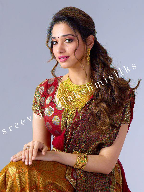 Tamanna for Sri Vijayalakshmi Silks & Rajan Jewellery 4 ...