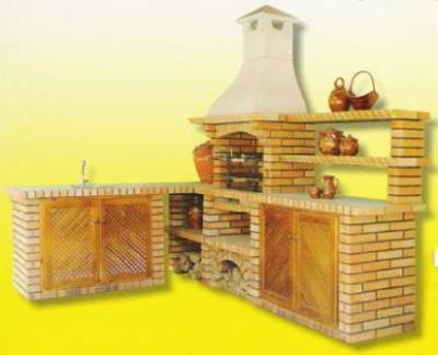 cuisine d 39 t berbecue chabon de bois art et d coration. Black Bedroom Furniture Sets. Home Design Ideas