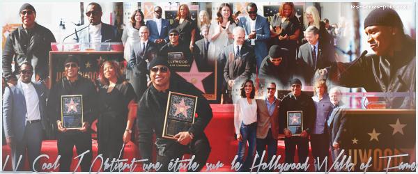 LL Cool J Obtient une �toile sur le Hollywood Walk of Fame