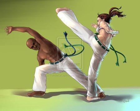 La Capoeira, un art martial à la mauvaise réputation qui a su se donner des lettres de noblesse